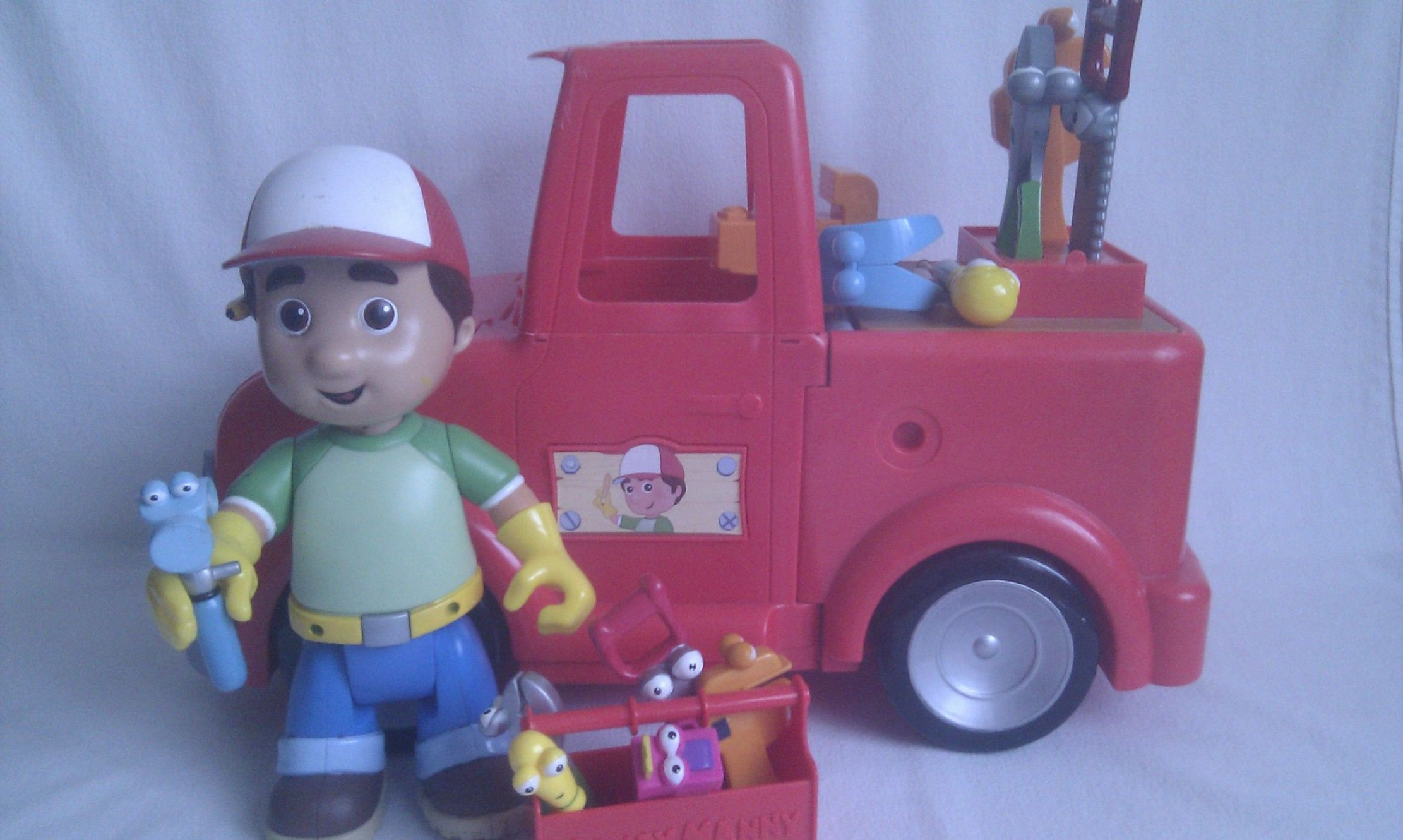 Disney Big Talking 2 In 1 Transforming Red Truck Handy